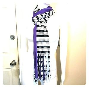 Accessories - Long Tassel Scarf Sz OS